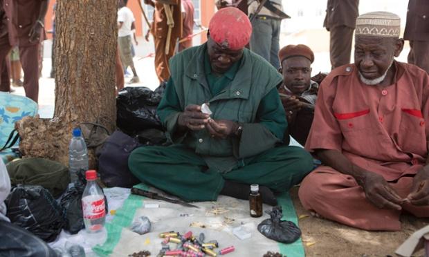 عکس رهبر نیجریه