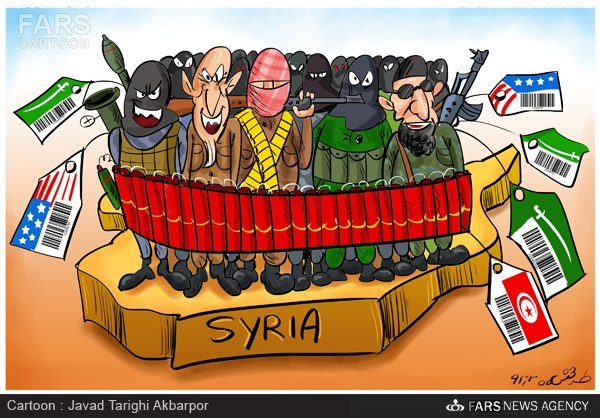 کاریکاتور/ تجمع تاریخی تروریستها!