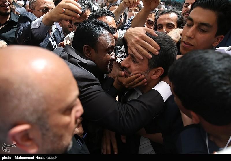 تصاویر/احمدینژاد در مراسم سالگرد امام(ره)