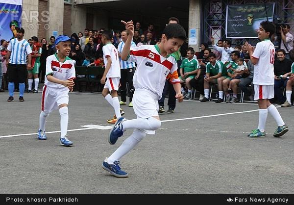 تصاویر/مسابقه کودکانسرطانی باپیشکسوتان