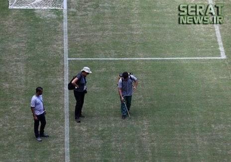 عکس/ تکنولوژی شیرازی در جام جهانی!