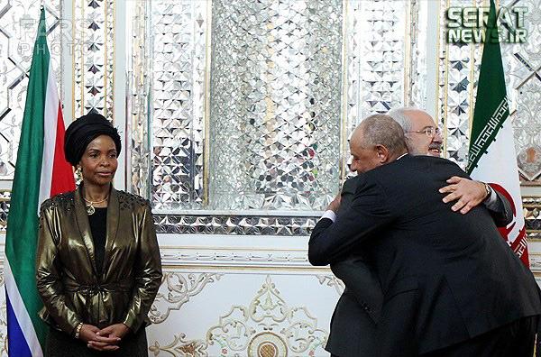 عکس جالب از به آغوش کشیدن ظریف