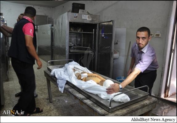 شهید 7 ساله فلسطینی+تصاویر دلخراش