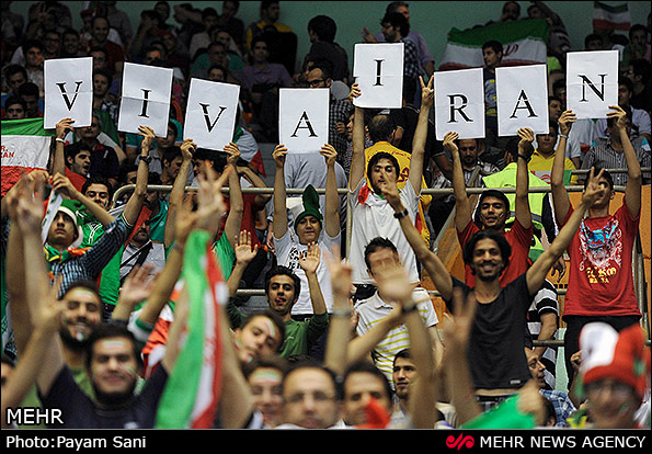 تصاویر/ دیدار تیمهای والیبال ایران و برزیل