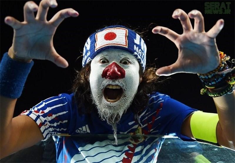 عکس/ کاپیتان تماشاگران ژاپنی!