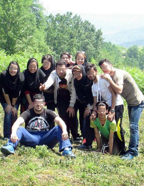 ترویج ابتذال در اردوهای مختلط+تصاویر