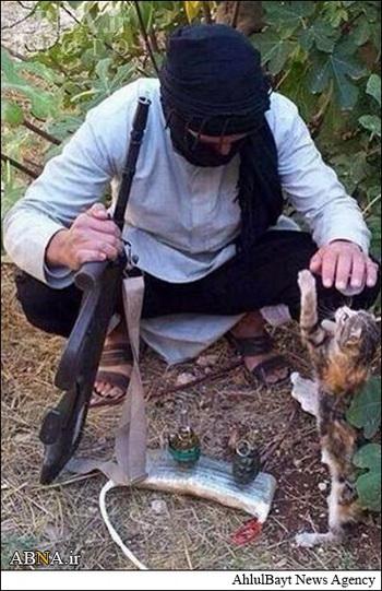 داعش مهربان است! + تصاویر
