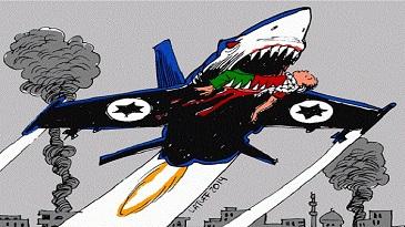 کاریکاتور فلسطین کاریکاتور غزه کاریکاتور اسرائیل