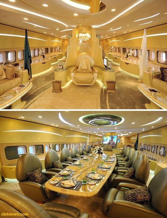 تصاویر/ جت خصوصی شاهزاده سعودی