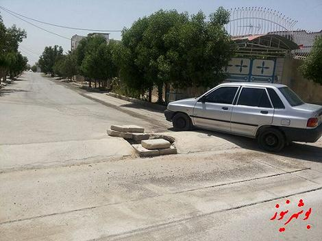 عکس/ این هم سرعت گیر عجیب در ایران!