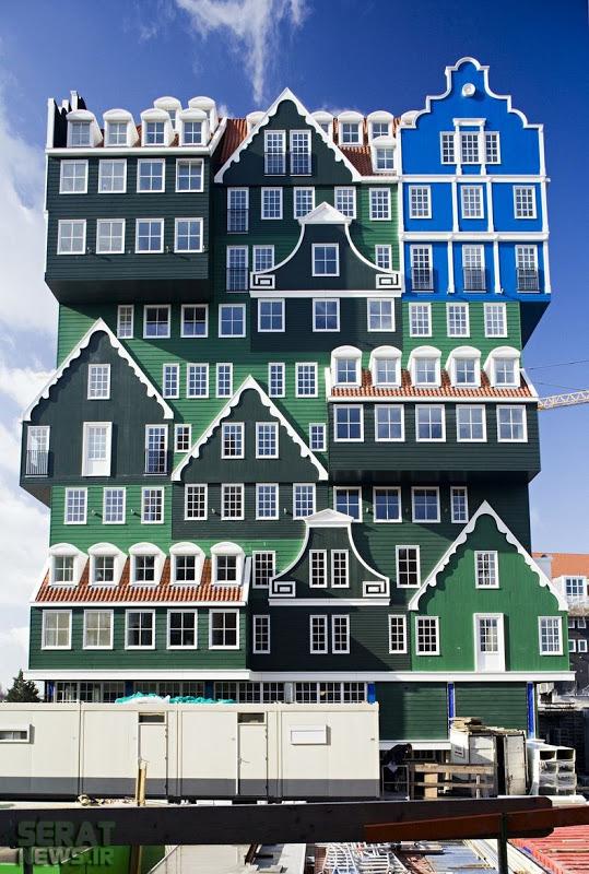 تصاویر / هتلی با چهره متفاوت در هلند
