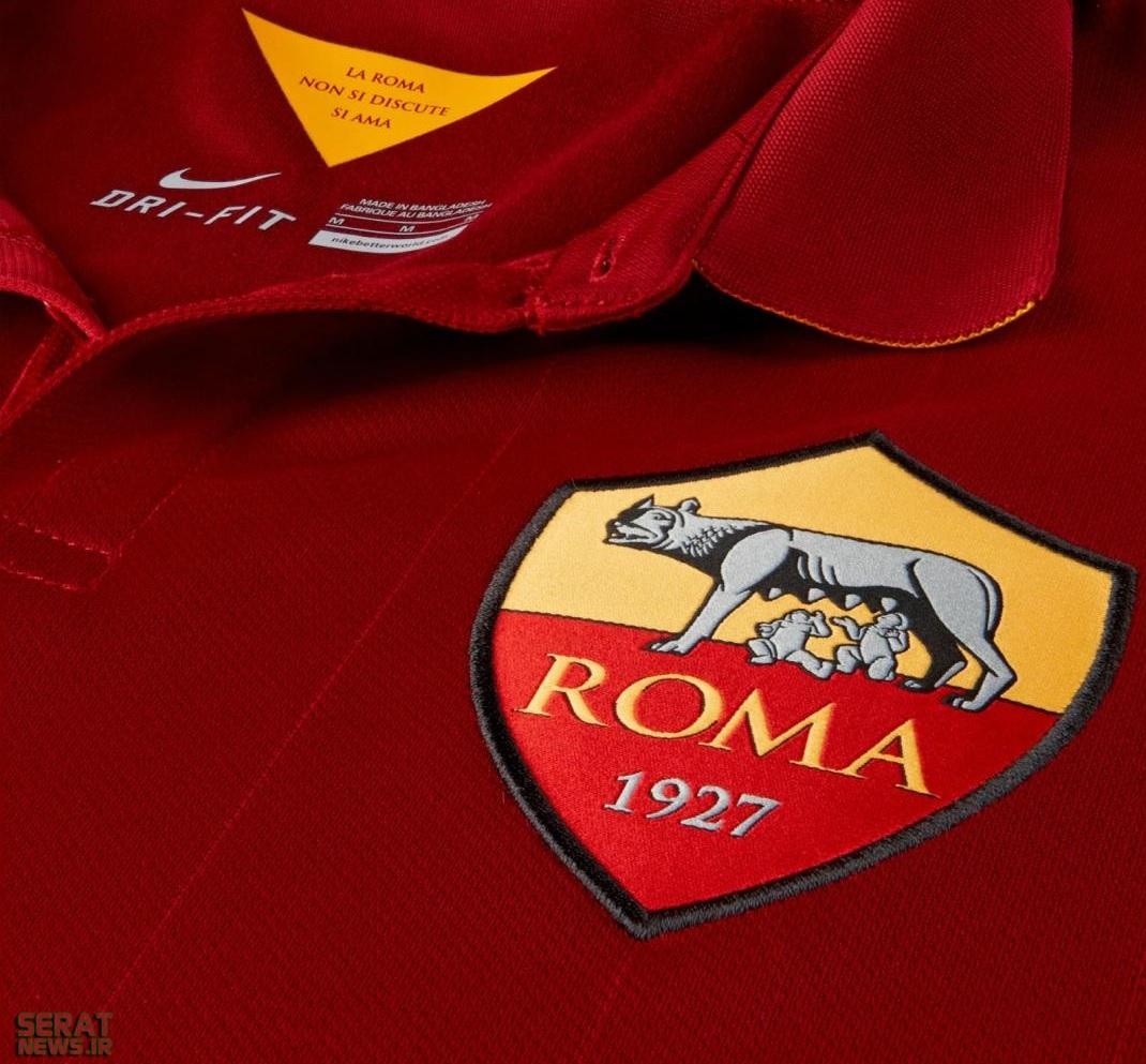 لوگوی عجیب باشگاه رم ایتالیا+ تصاویر