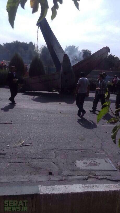 سقوط مرگبارهواپیما مسیر تهران طبس
