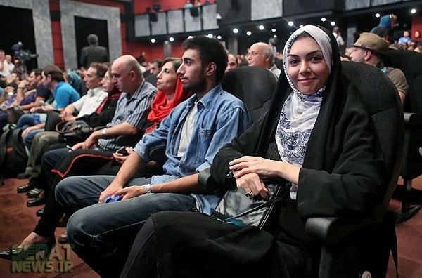 عکس/ آزاده نامداری در جشن سینماییها