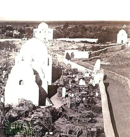 عکس/ قبرستان بقیع 110 سال قبل