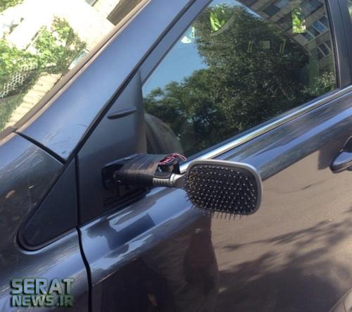 عکس/ جدیدترین نوع آینه بغل خودرو!