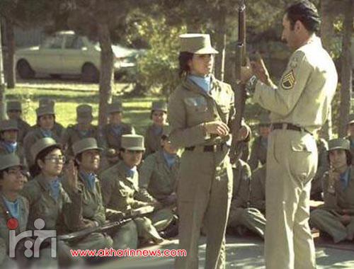 عکس/دختران سرباز ایرانی سال۱۳۵۳