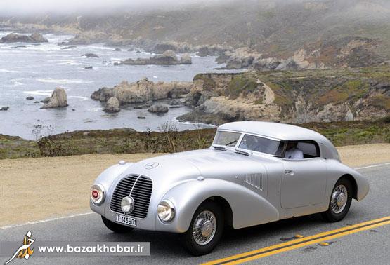 عکس/ مرسدس بنز مدل سال 1938