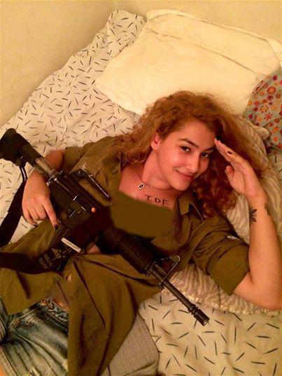 زن اسراییلی دختر اسراییلی جنایات اسراییل