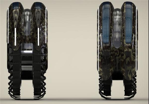 جدیدترین وسیله نقلیه نظامی+تصاویر