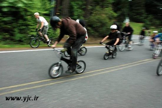 عجیبترین مسابقه دوچرخهسواری+عکس
