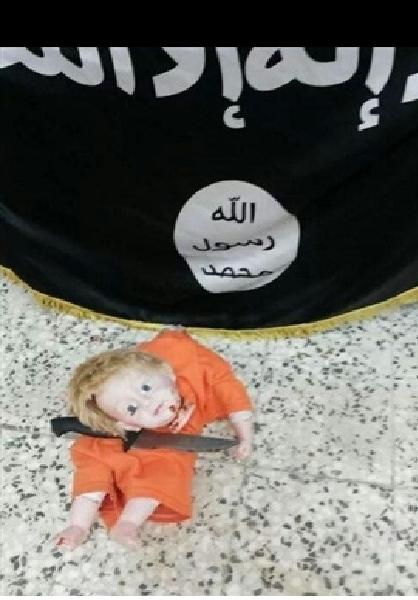 عروسک کودکان داعشی +تصاویر
