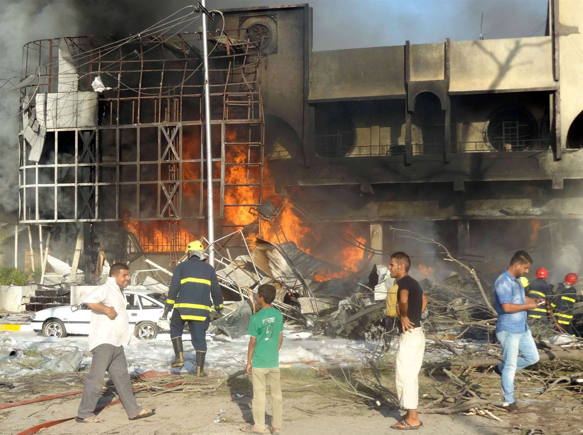 انفجارهای مرگبار در کرکوک+تصاویر
