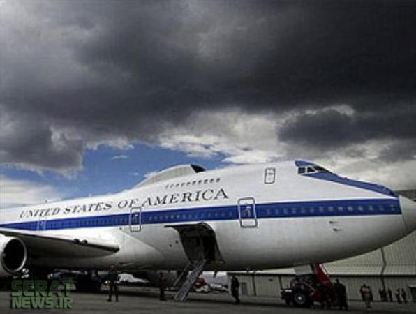 تصاویر/ واشینگتن هواپیمای پایان دنیا را آماده کرد