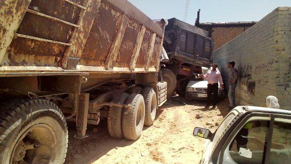 تصادف زنجیره ای در شیراز +تصاویر