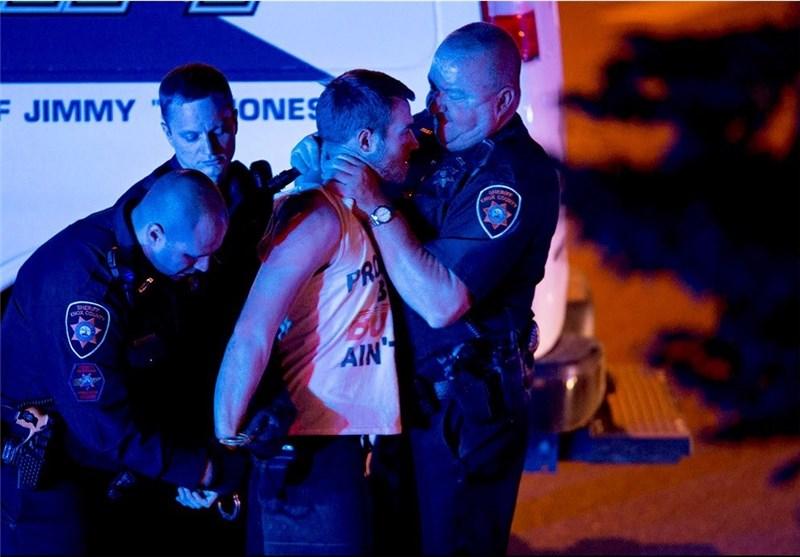 خفه کردن یک دانشجو توسط پلیس آمریکایی +عکس