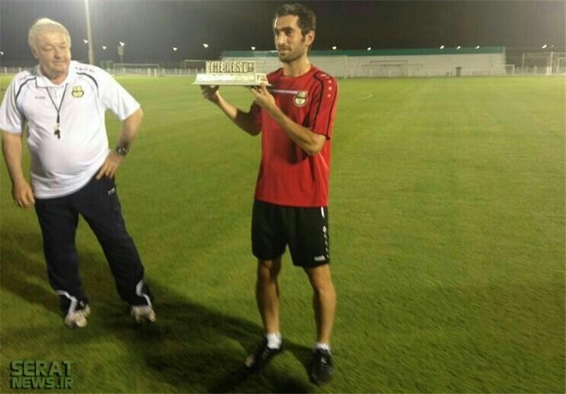 یک ایرانی بهترین بازیکن لیگ قطر +عکس