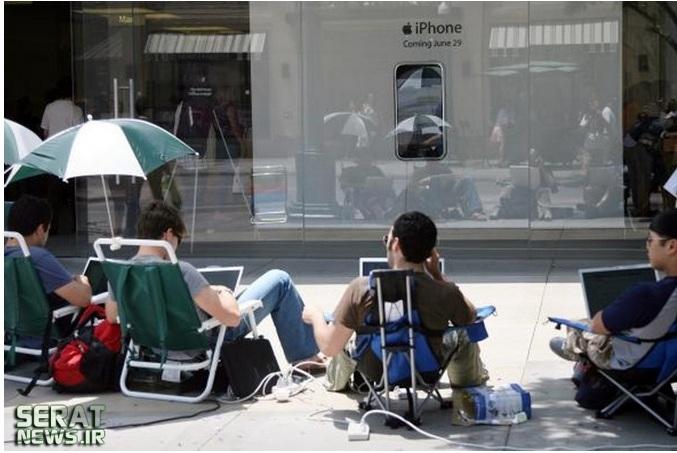 صف خرید آیفون 6 تشکیل شد+ عکس