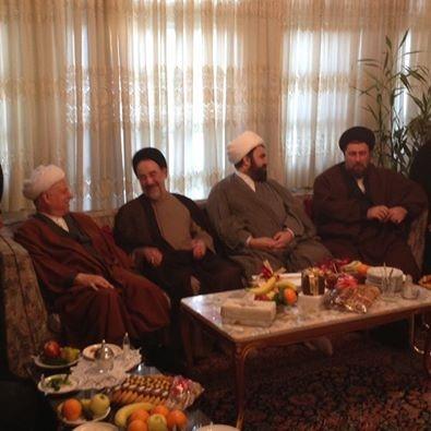 عکسی از آخرین مراسم عقد در خانه هاشمی رفسنجانی