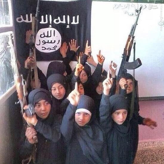 عکس/ مدرسه دخترانه داعشیها