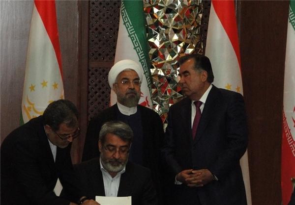 امضای ۱۰ سند همکاری در دیدار رؤسای جمهوری ایران و تاجیکستان+تصاویر