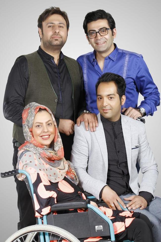 کاش فرزاد حسنی وآزاده نامداری هم .... /عکس فرزاد حسنی کنار احسان وسولماز