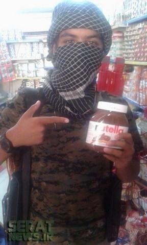 عکس/ شکلات مورد علاقه داعشی ها!