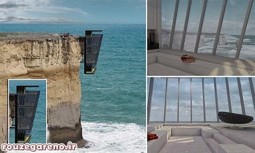 عکس/ هتلی بر فراز دریا