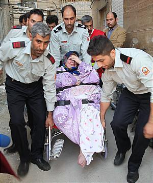 خروج زن 160 کیلویی تهرانی از خانه پس از هشت سال