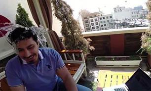 خسارت چالش آبیخ به آقای خواننده+عکس