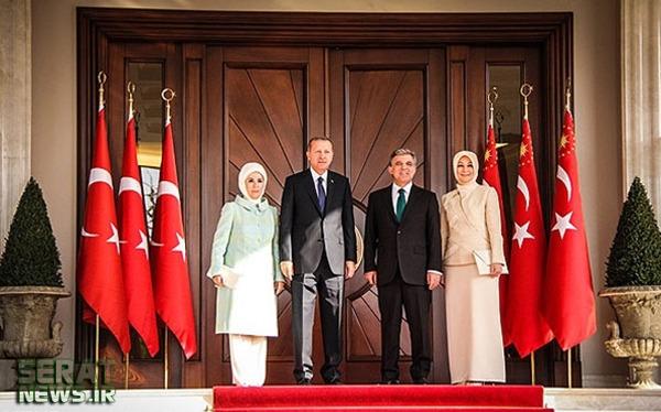 عکس/ همه بانوان اول محجبه ترکیه