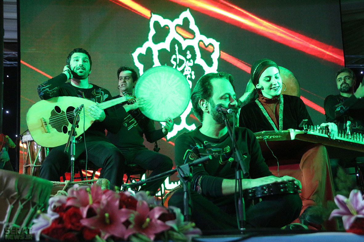 محمدباقر قالیباف گروه رستاک کنسرت مختلط شهردار تهران