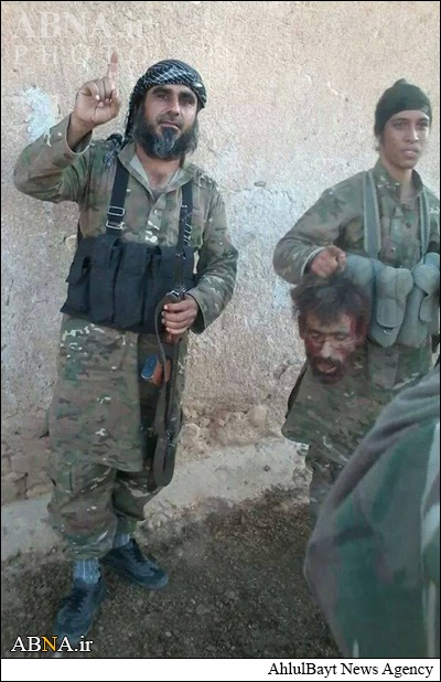 تصاویر/ جنایت داعش در بدو ورود به کوبانی