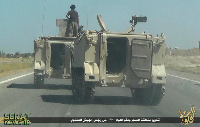 نفربرهای پیشرفته ارتش عراق، در دست