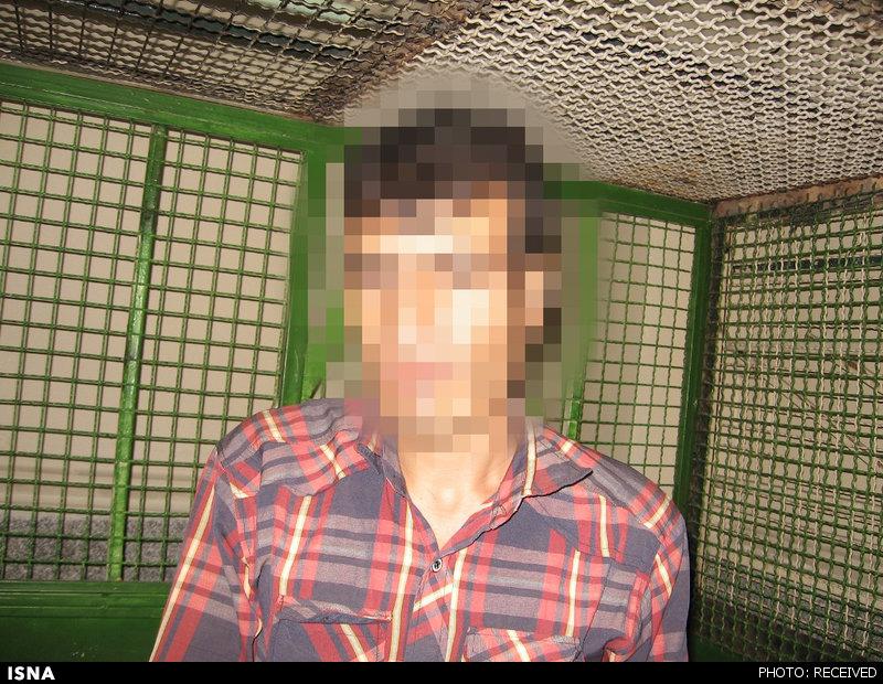 سرقت مسلحانه جوان بیکار از بانک ناکام ماند +عکس