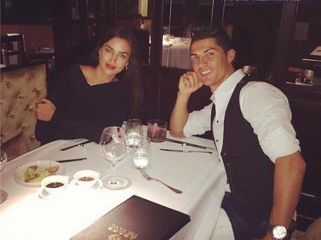 شام 70 یورویی رونالدو و همسرش +عکس