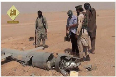 داعش: پهپاد آمریکایی را زدیم +عکس