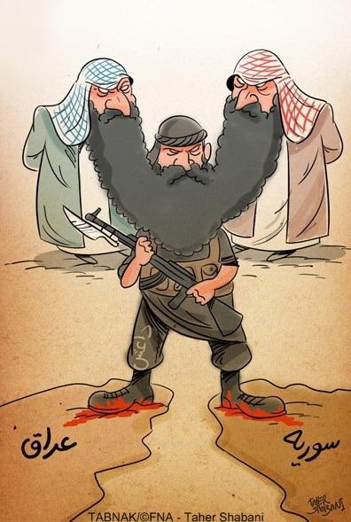 کاریکاتور/ نقش مفتیهای سعودی در پیدایش داعش