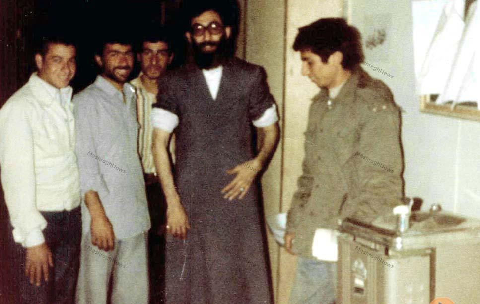 عکس/ رهبر معظم انقلاب پیش از سوء قصد به جانشان