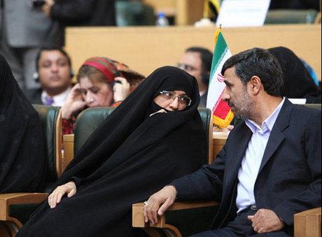عکس روحانی و همسرش